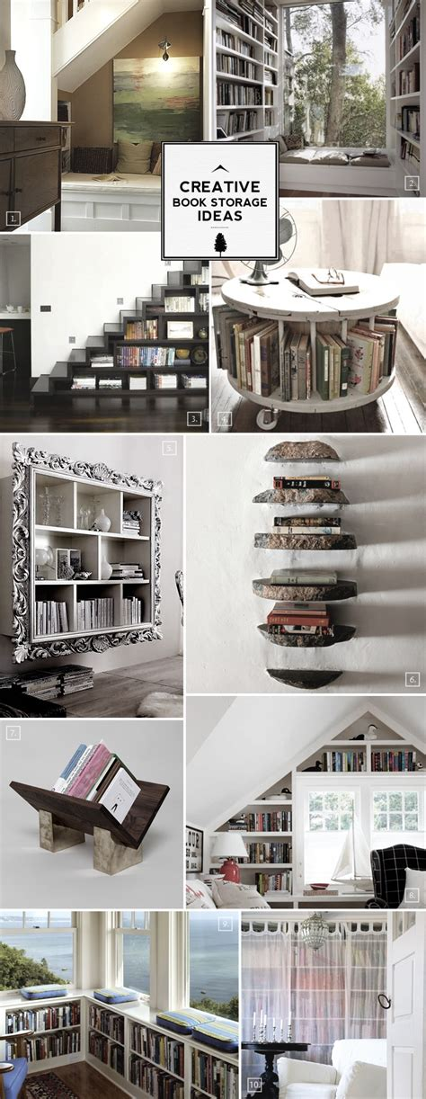 creative storage ideas creative book storage ideas from nooks to staircases