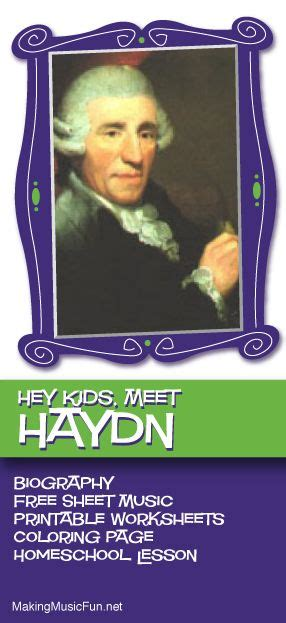 mozart biography for middle school students hey kids meet franz joseph haydn composer biography and
