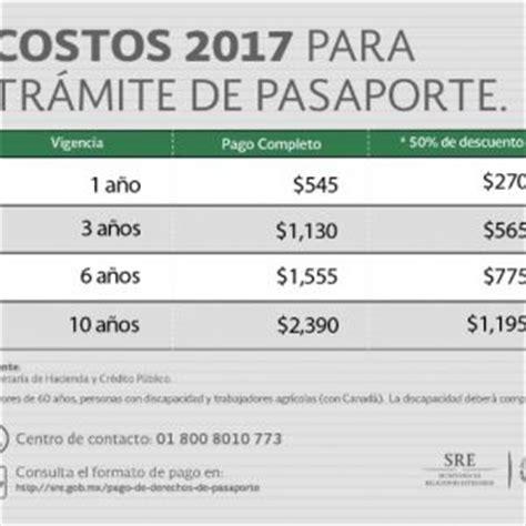 pago de derechos vehiculares 2016 subir 225 el precio del pasaporte en 2017 peri 243 dico el cinco
