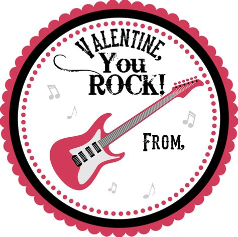 you rock valentines you rock clipart 72