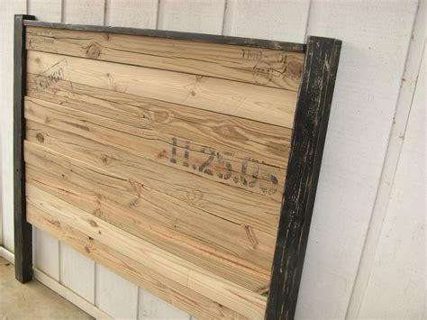 Reclaimed Wood Headboard Sanctuary Of Peace Creative Mind