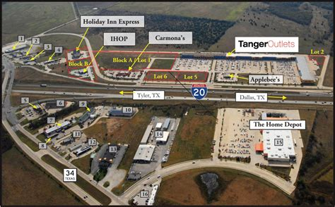 tanger outlets terrell economic development