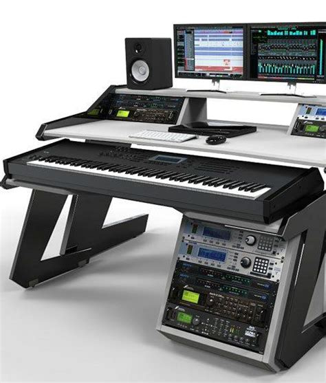 home studio desk home studio desk workstation furniture