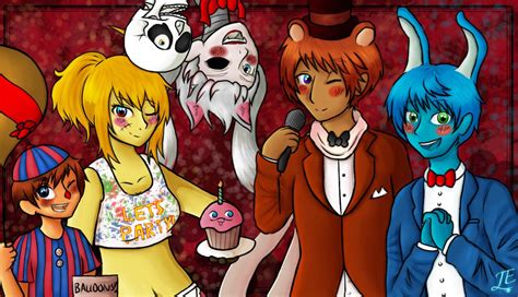 doll reader x hetalia aph fnaf new crew by jeroine on deviantart