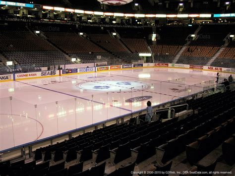 section 118 air canada centre air canada centre section 110 toronto maple leafs