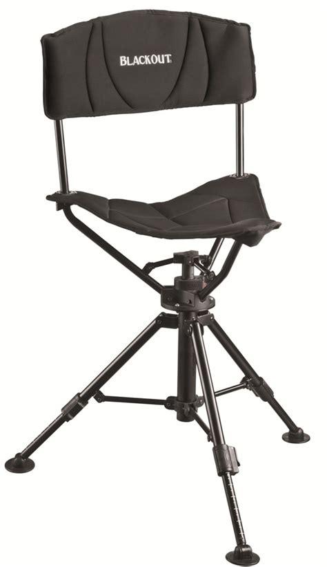 Folding Tripod Chair With Back by Blackout Swivel Tripod Chair Deer Deals