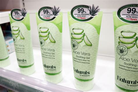 Nature Republic Aloe Vera 92 Soothing Gel Watson you need these cheap multipurpose gels in your