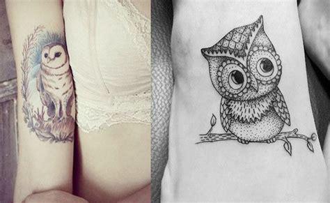 imagenes de tatuajes de buhos para mujeres tatuajes de b 250 hos y lechuzas dise 241 os y significado