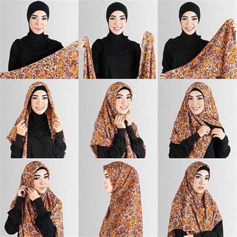 Foto Cara Memakai kumpulan 10 cara memakai jilbab terupdate 2016 kumpulan contoh kreasi modern terbaru 2016
