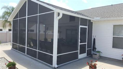 Florida Patio Enclosures by Ocala Marion County Screen Enclosures Glass Rooms And