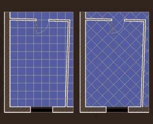 posa piastrelle in diagonale lacasapensata info una soluzione per il bagno stretto e lungo