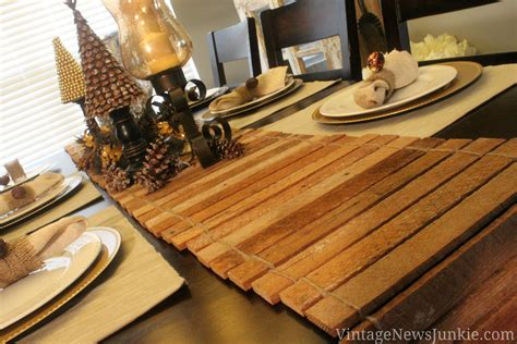 how to make a table runner out of scrap wood tutorial
