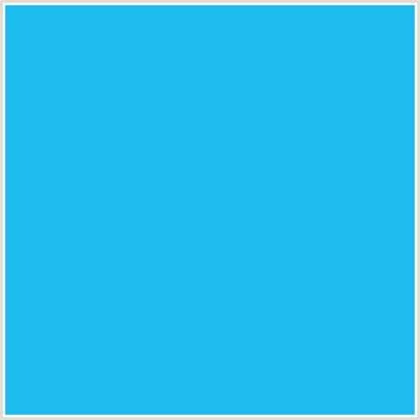 Light Blue Hex Code by 1fbcf0 Hex Color Rgb 31 188 240 Light Blue Picton Blue