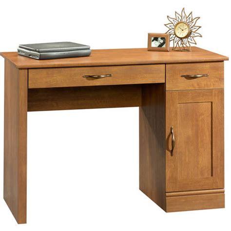 mainstays cardinal hill computer desk hazelwood finish