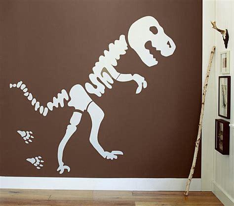 dinosaur bones decal decoist