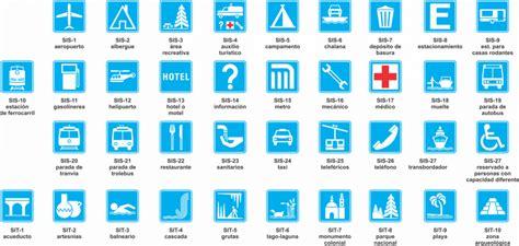 imagenes de señales informativas con su significado se 209 ales informativas de servicios y turisticas cactus