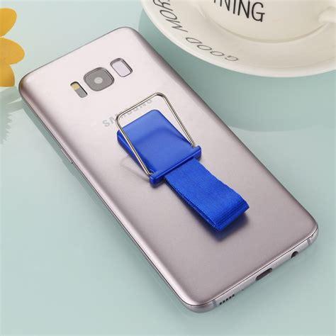 Lanyard 3m universal reusable phone holder stand with finger lanyard