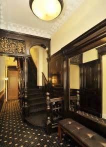 new decor new york upper west side brownstone victorian interior foyer victorian and gothic interior