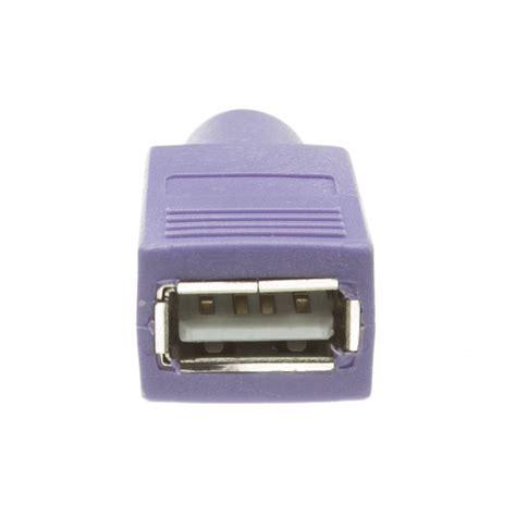 purple usb  ps keyboardmouse adapter