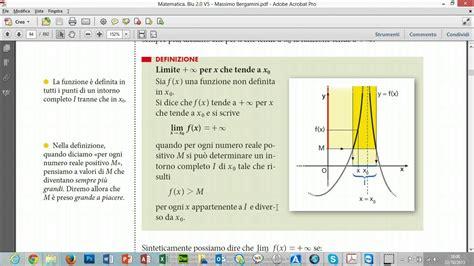 lim x tende a 0 limite infinito per x tende ad un valore finito