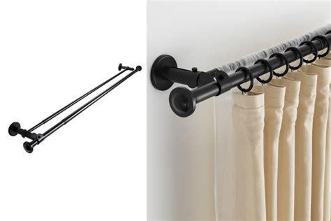 rieles para cortinas dobles como hacer cortinas dobles en diversos modelos elegantes