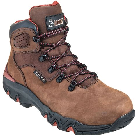 s discount hiking boots rocky boots s rkyk062 waterproof brown bigfoot hiking