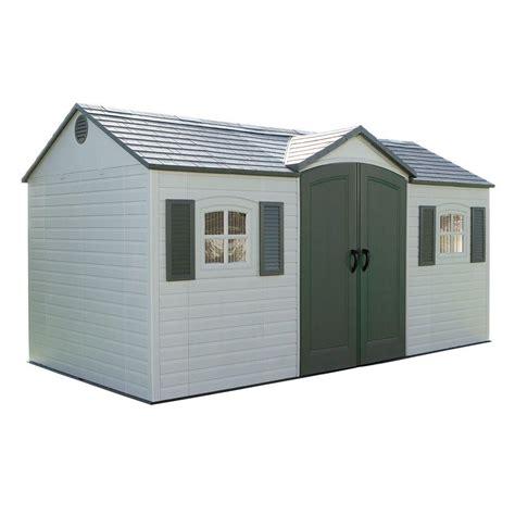 lifetime  ft   ft outdoor garden shed