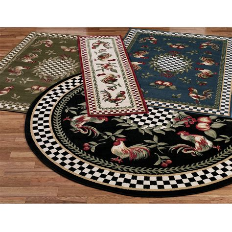 designer kitchen rugs unique rooster kitchen rugs design ideas inspirations also