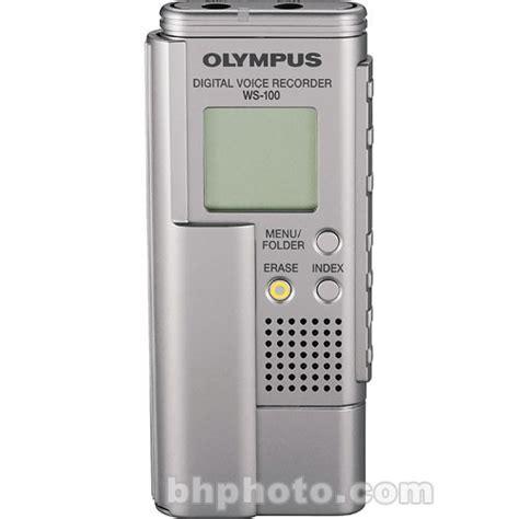 olympus digital olympus ws 100 digital voice recorder 141805 b h photo