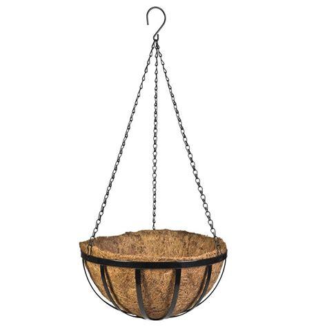 Vigoro 12 In Metal English Hanging Basket Hpf12tbvg The Hanging Basket Planters