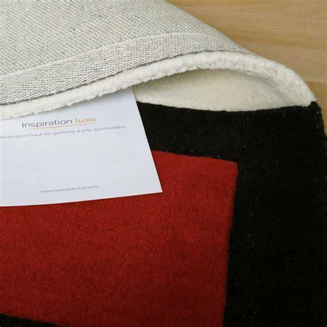 Tapis Luxe Design by Tapis De Luxe Design Noir Blanc Cass 233 Et Pointes De