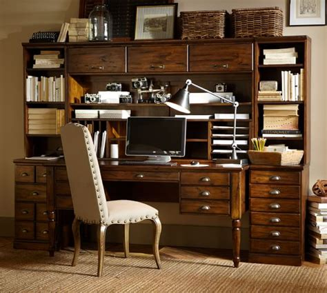pottery barn furniture printer s office suite pottery barn