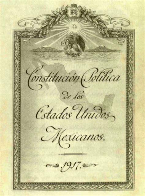 antecedentes del articulo5 191 cu 225 ntos art 237 culos tiene la constituci 243 n mexicana