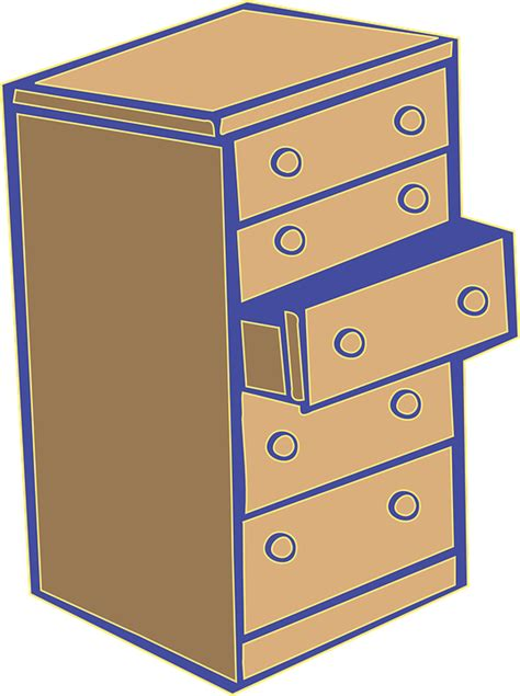 Graphic Drawer free vector graphic chest of drawers commode dresser