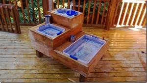 Sand Table Ideas How To Build Your Own Water Sand Sensory Table For Play