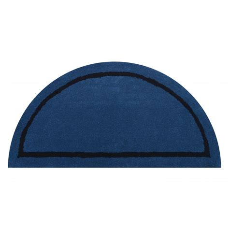 half circle rug deluxe comfort henley wool rug and half circle tufted area rugs blue