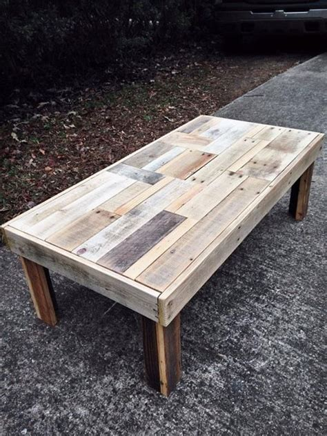 15 reclaimed diy coffee tables diy and crafts 12 diy antique wood pallet coffee table ideas diy and