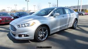 What Does A Ford Fusion Look Like 2013 Ford Fusion Titanium 2 0t Start Up Exhaust And In