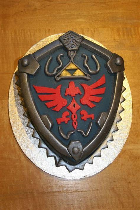 cocina zelda the legend of zelda hylian shield cake delicious