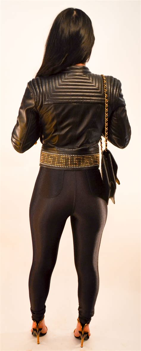 Jacket Ver Sace versace leather jacket 32 eu 2 us for l amour