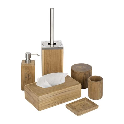 Buy Moeve Teak Wood Tissue Box Amara Teak Wood Bathroom Accessories