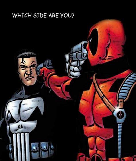 deadpool vs the punisher punisher vs deadpool where my comics at