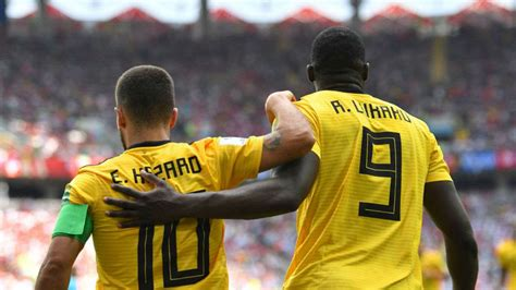 fifa world cup 2018 belgium thump tunisia 5 2 as