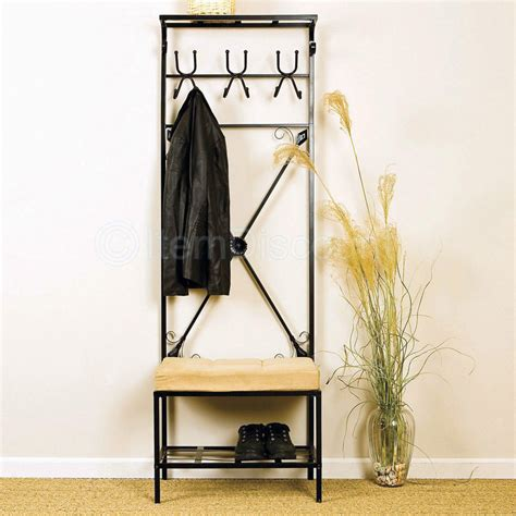 entryway bench and hooks entryway coat rack and storage bench simple