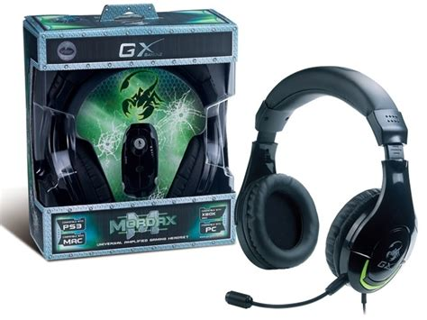 Headset Jbl At 026 genius hs g600 mordax gaming headset