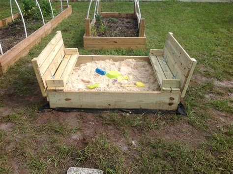 sandbox with bench lid 17 best ideas about sandbox with lid on pinterest