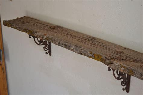 riverside road weathered barn wood wall shelf simple and