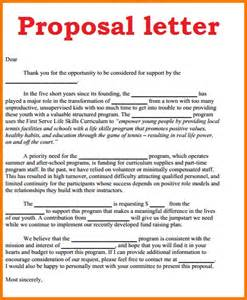 8 fee proposal letter example financial statement form
