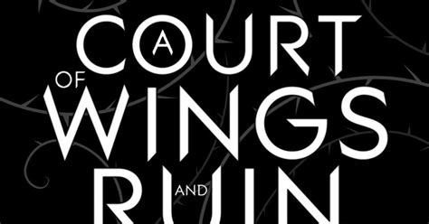 libro a court of wings los mil libros pr 243 ximamente quot a court of wings and ruin quot de sarah j maas