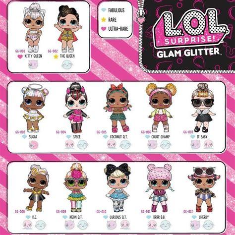 lol glam glitter boneca surprise lancamento  original